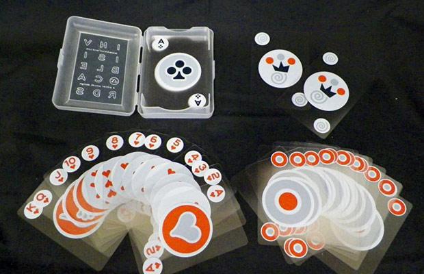 carte da poker invisibili