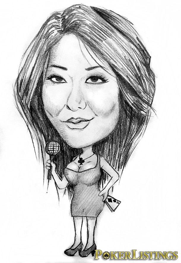 maria ho caricatura