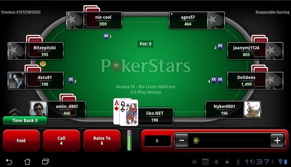 subito la pokerstars mobile poker app