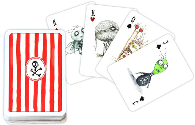 carte da poker Tim Burton