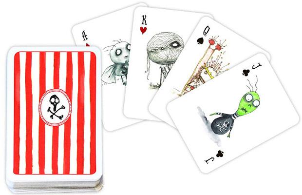 carte da poker Tim Burton