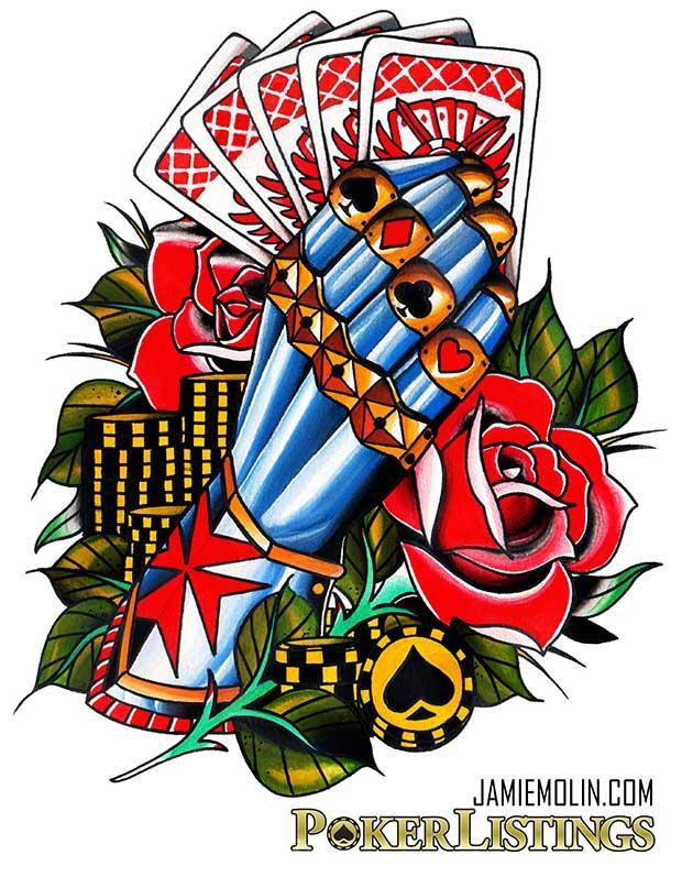 tatuaggi poker
