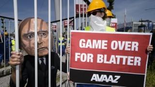 Blatter game over