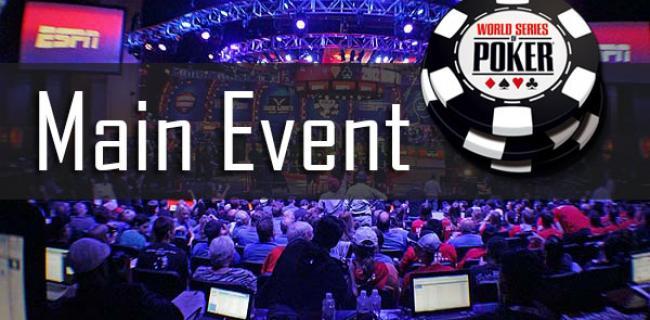 WSOP Main Event 2015