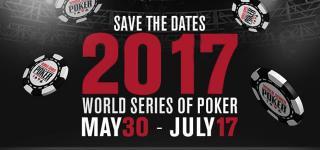 WSOP 2017 info