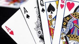 Omaha Poker Hand