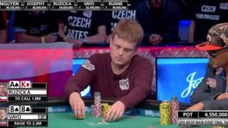 WSOP 2016 Main bluff