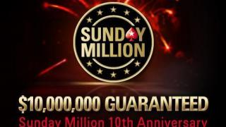 anniversario sunday million
