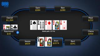 punti texas holdem contare