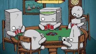 robots playin cards2