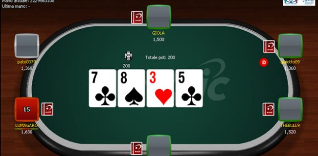 Betclic Bonus di Poker Senza Deposito