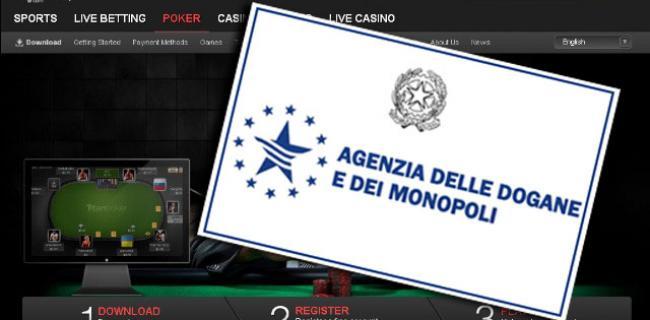 Giocate solo nelle migliori poker room AAMS