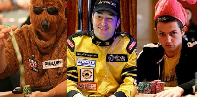 I Migliori Costumi e Travestimenti del Poker Live