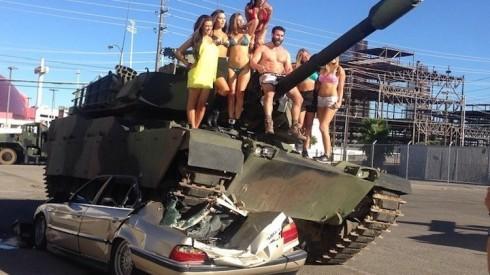 Dan Bilzerian Tank
