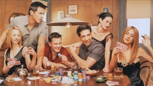poker serie tv friends2