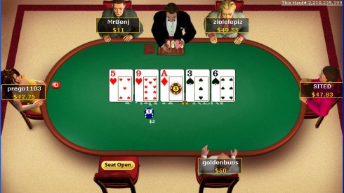texas holdem poker limit