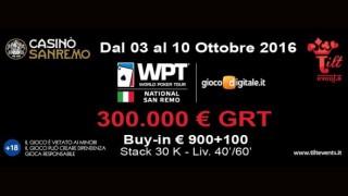 WPTN sanremo 2016 ottobre