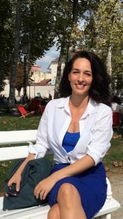 Kara Scott a Ljubljana