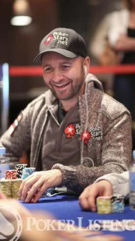 Daniel Negreanu positivo
