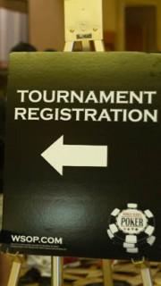 wsop Tournament registration