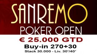 sanremo poker open 2016
