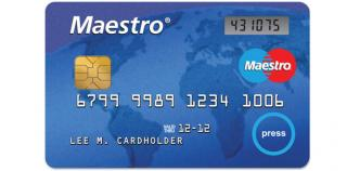 maestro poker card