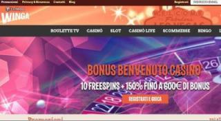 WingaPoker Casino
