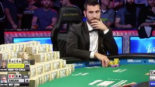 WSOP Dario sammartino