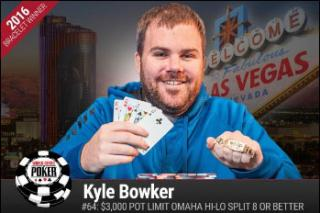 KYLE BOWKER PLO HIGH LOW SPLIT