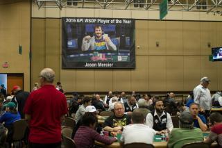 Jason Mercier Banner 2017 WSOP 2