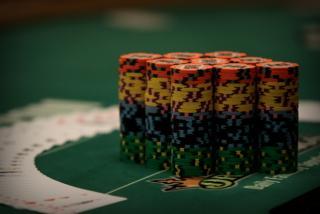 Chip stack WSOP 2015