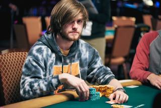 Charlie Carrel WSOP