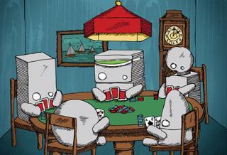 robots playin cards3