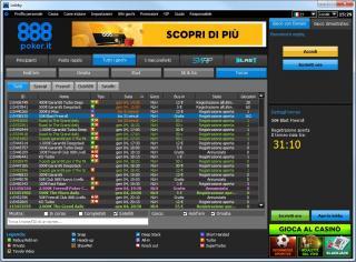 Lobby 888poker.it