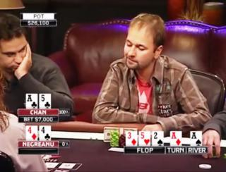 Negreanu  thinking