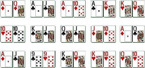mani partenza poker migliori