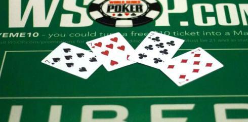 poker di 7