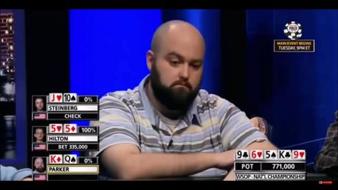 Brock Parker video poker