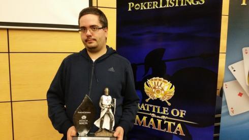 CrazyP vincitore 2016 Jahn Terge Kristoffe
