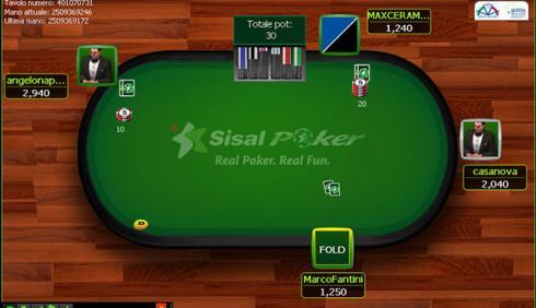 Quanto costa aprire poker room Sisal
