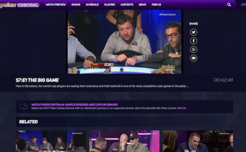 Tony G poker central
