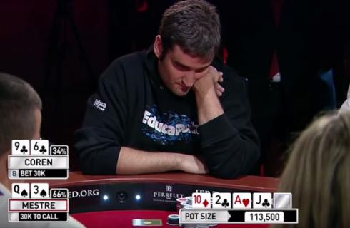 Bluff poker coren raul mestre