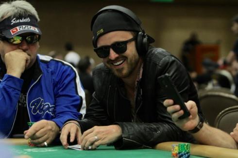Aaron Paul 8 2015 WSOP