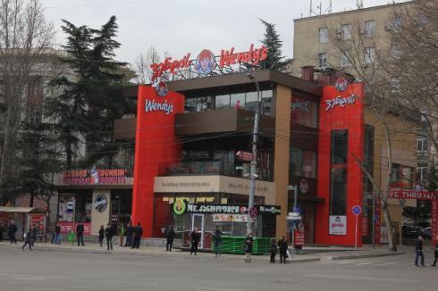 Georgia Wendy fast Food