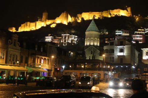 Tiblisi by night