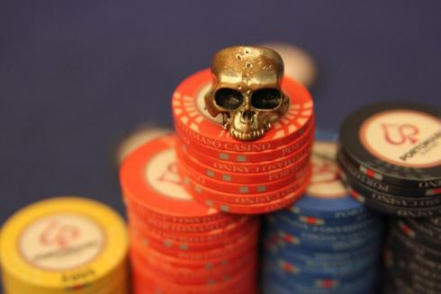 teschio poker