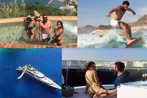 Dan Bilzerian vacanze 2