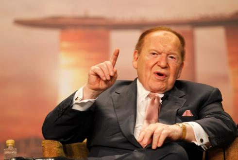 Sheldon Adelson poker