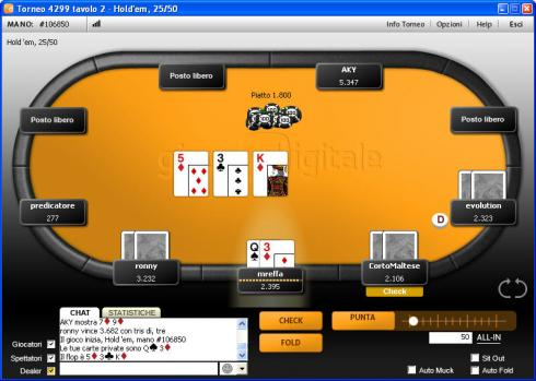 migliore online poker
