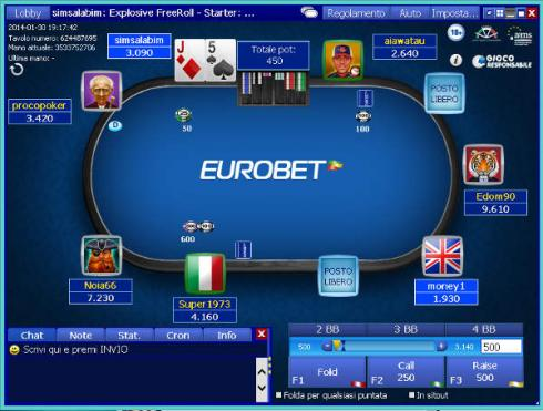 poker room italiane